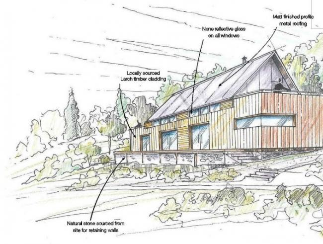 An artist's impression of the plan that was refused