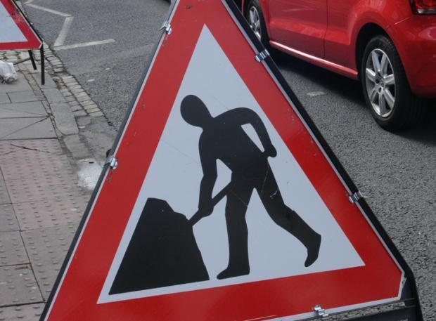 Overnight closures on the A702 for essential maintenance work