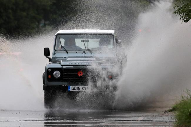 Storms expected to batter the Borders all weekend